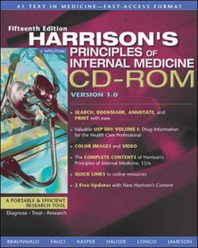 9780071374798: Harrison's Principles of Internal Medicine: Windows/Mac Single User