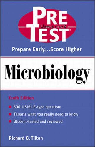9780071374958: Microbiology: PreTest Self-Assessment and Review