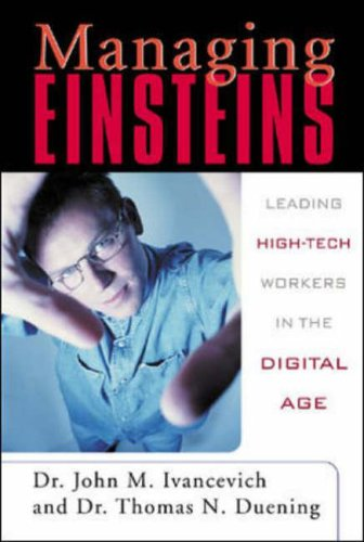 9780071375009: Managing Einsteins: Leading High-Tech Workers in the Digital Age