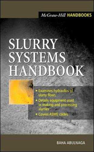 9780071375085: Slurry Systems Handbook (Mechanical Engineering)