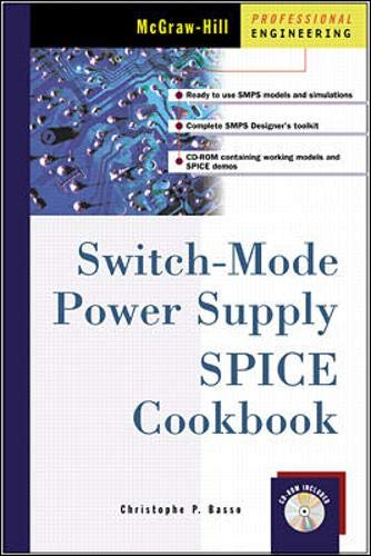 9780071375092: Switch-Mode Power Supply Spice Cookbook
