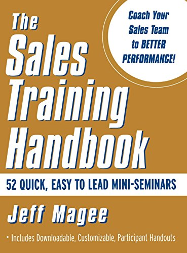 9780071375160: Sales Training Handbook: 52 Mini-seminars for Sales Managers and Sales Trainers