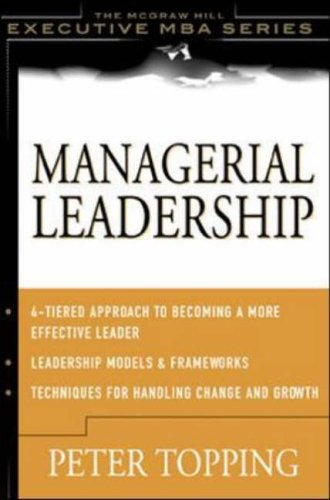 9780071375238: Managerial Leadership (McGraw-Hill Executive MBA Series)