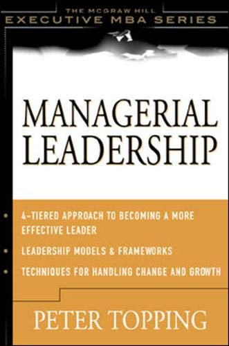 9780071375238: Managerial Leadership