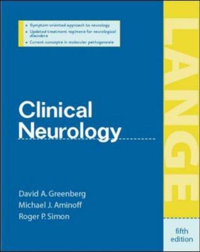 9780071375436: Clinical Neurology (Lange Medical Books)