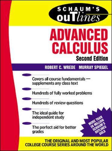 9780071375672: Schaum's Outline of Advanced Calculus, Second Edition