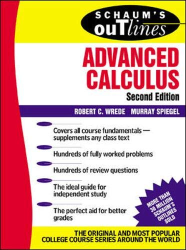 9780071375672: Schaum's Outline of Advanced Calculus, Second Edition (Schaum's Outline Series)