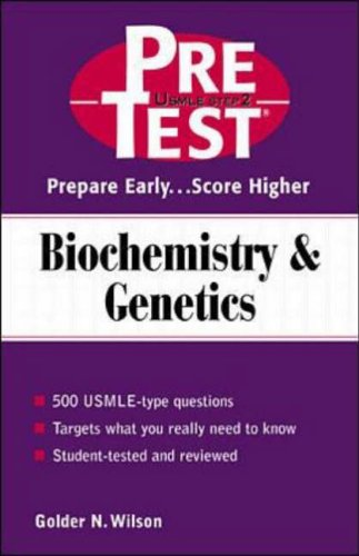 9780071375788: Pre-test Self-assessment and Review: Biochemistry and Genetics (Pretest Series)