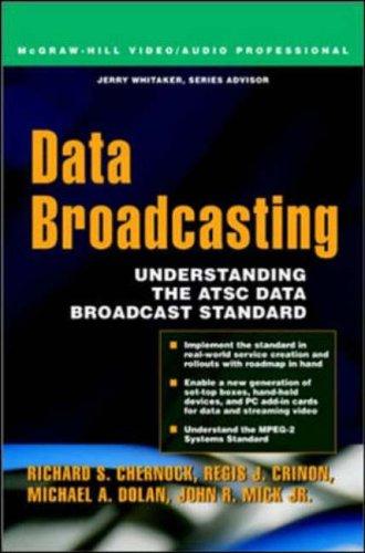 9780071375900: Data Broadcasting: Understanding the ATSC Data Broadcast Standard (Video/Audio)