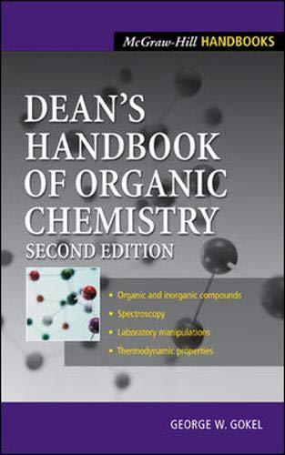 9780071375931: Dean's Handbook of Organic Chemistry (McGraw-Hill Handbooks)