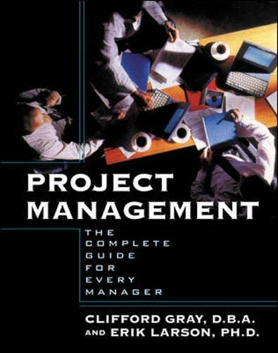 9780071376013: Project Management : The Complete Guide for Every Manager