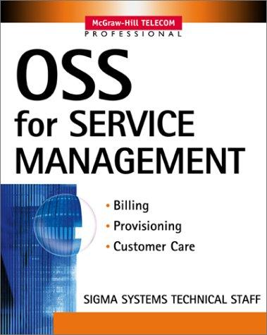 9780071376723: OSS for Service Management