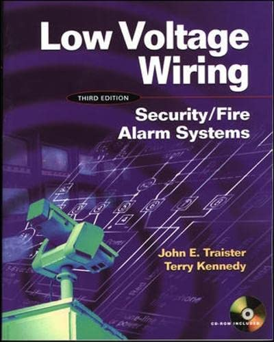 9780071376747: Low Voltage Wiring: Security/Fire Alarm Systems