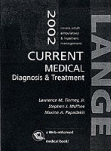 9780071376884: Current Medical Diagnosis and Treatment 2002 (Lange Medical Books)