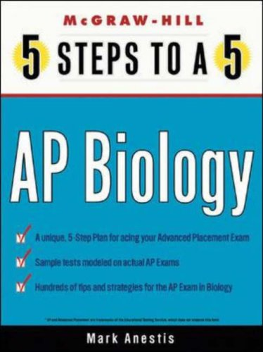 9780071377188: 5 Steps to a 5 on the Advanced Placement Examinations: Biology