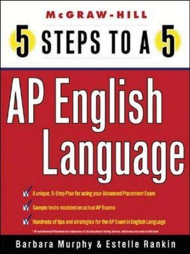 9780071377201: 5 Steps to a 5 on the Advanced Placement Examinations: English Language