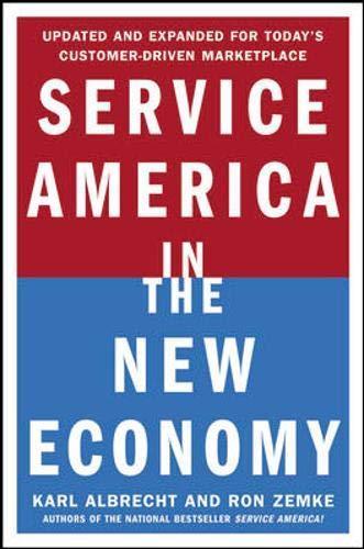 9780071377225: Service America in the New Economy