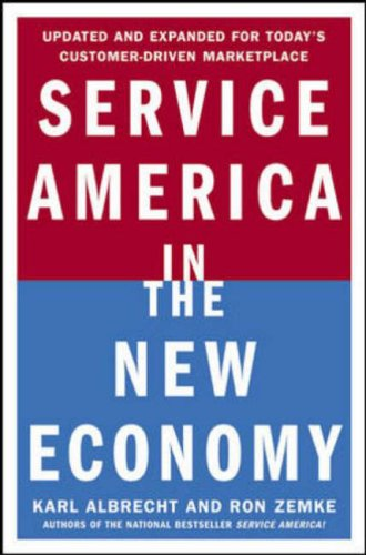 9780071377225: Service America in the New Economy