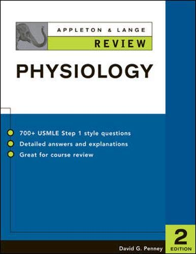 9780071377263: Appleton & Lange Review of Physiology
