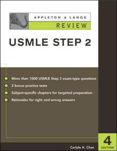 9780071377287: Appleton & Lange Review for the USMLE Step 2
