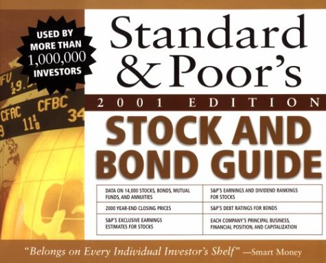 9780071377294: Standard and Poor's Stock and Bond Guide, 2001 Edition