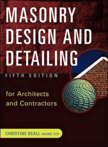 9780071377348: Masonry Design and Detailing: For Architects and Contractors