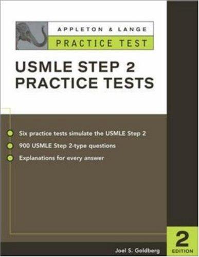 9780071377409: Appleton & Lange's Practice Tests for the USMLE Step 2