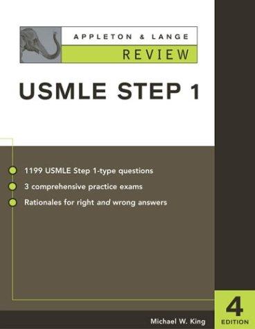 9780071377423: Appleton & Lange Review for the USMLE Step 1