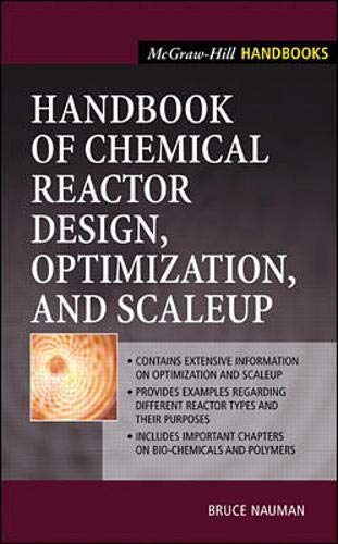 9780071377539: Handbook of Chemical Reactor Design, Optimization, and Scaleup (McGraw-Hill Professional Engineering)