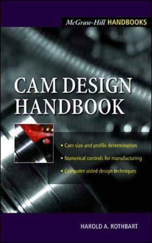 9780071377577: Cam Design Handbook: Dynamics and Accuracy