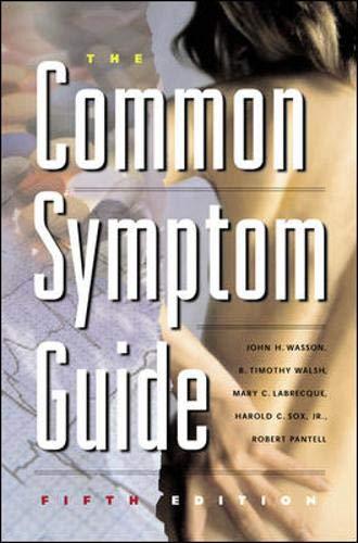 9780071377652: The Common Symptom Guide
