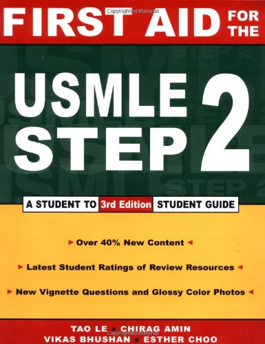 9780071377706: First Aid for the USMLE Step 2