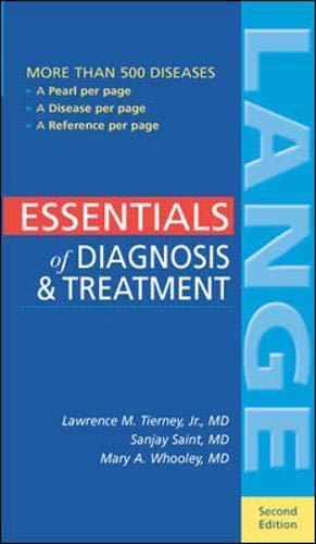 9780071378260: Essentials of Diagnosis & Treatment