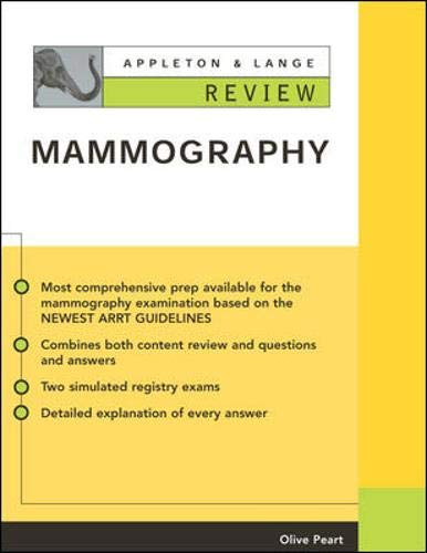 9780071378284: Appleton & Lange Review of Mammography