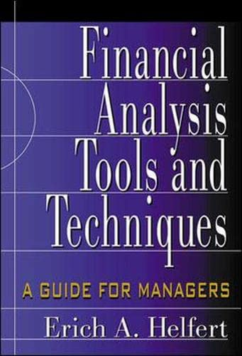 9780071378345: Financial Analysis Tools and Techniques: A Guide for Managers (Professional Finance & Investment)
