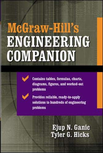 9780071378369: McGraw-Hill's Engineering Companion