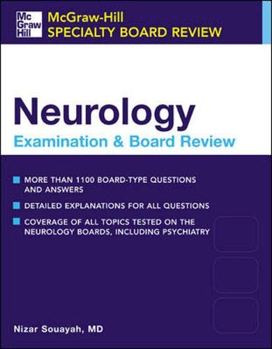 9780071378390: Neurology: McGraw-Hill Specialty Board Review Series