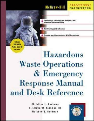 9780071378819: Hazardous Waste Operations & Emergency Response Manual and Desk Reference