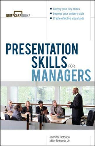 9780071379304: Presentation Skills For Managers