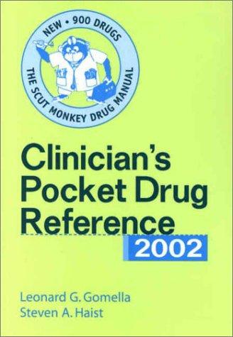 9780071379342: Clinician's Pocket Drug Reference 2002