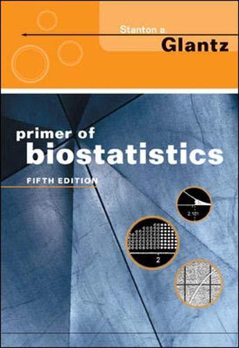 9780071379465: Primer of Biostatistics