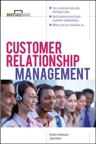 9780071379540: Customer Relationship Management (Briefcase Books Series)