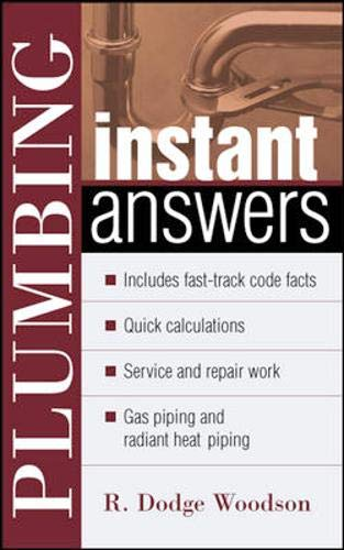Plumbing Instant Answers: R. Woodson
