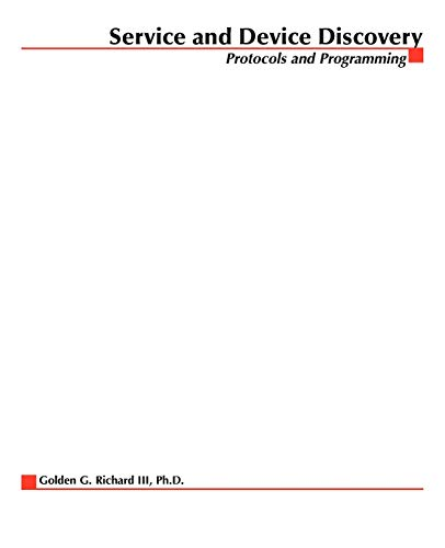 9780071379595: Service and Device Discovery : Protocols and Programming