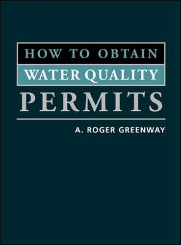 9780071379786: How to Obtain Water Quality Permits