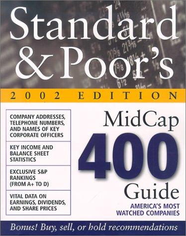 9780071380690: Standard & Poor's MidCap 400 Guide 2002