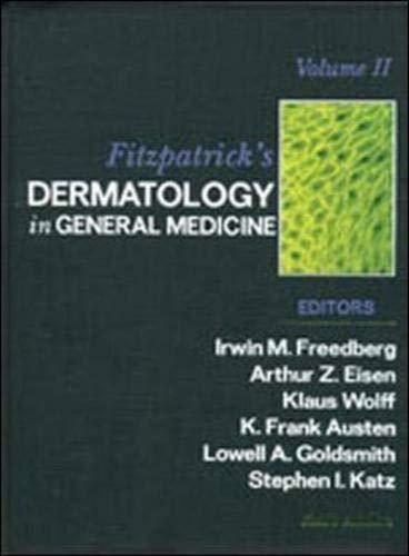 9780071380768: Fitzpatrick's Dermatology In General Medicine: Vol 1 & 2