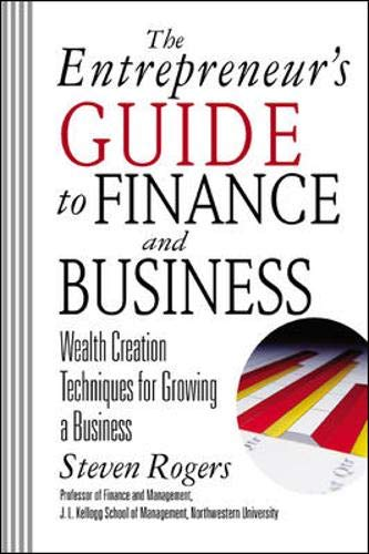 9780071380812: The Entrepreneur's Guide to Finance & Business: Wealth Creation Techniques for Growing a Business