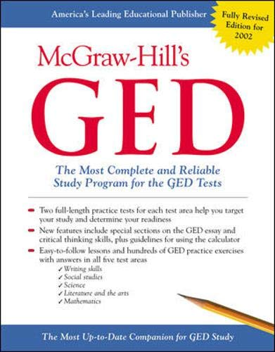 9780071381796: McGraw-HIll's GED : The Most Complete and Reliable Study Program for the GED Tests