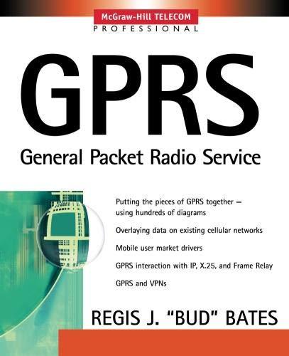 9780071381888: Gprs: General Packet Radio Service (Professional Telecom)